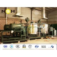 China Continuous Used Motor Oil Recycling Equipment , Custom Color Engine Oil Recycling Machine on sale
