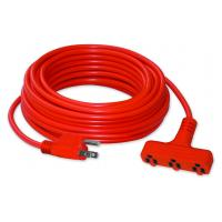 China PVC/TPE Rubber American Red Electrical Extension Cords with OEM Service wholesale