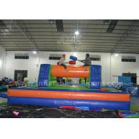 China Adults Inflatable Sports Games / 8 x 4M Inflatable Gladitor Jousting Game wholesale