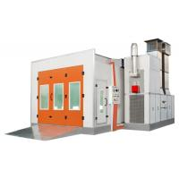 China Downdraft Paint Spray Booth 18KW For Car Spraying and Baking wholesale