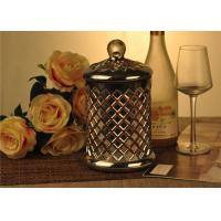 China Cylinder Glass Candle Holder on sale