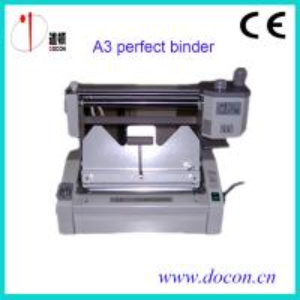 China A3 size manually book binding machine DC-460A book binder machine wholesale