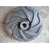 China Steel Wear Resistant Slurry Pump Impeller Easy Install Various Color / Size wholesale
