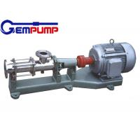 China I-1B explosion-proof stainless steel thick slurry pump / Single Screw Pump / printing pump / dyeing pump / paper pump wholesale