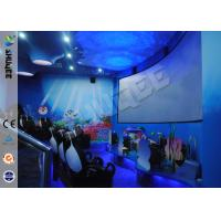 China Funny Cartoon Cute 5D Theater System 360 Degree Screen With Motion Simulator Film wholesale