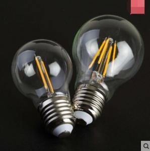 China Edison COG lamp LED Filament Bulb Candle Light E27 E14 End Cap Glass cover Sapphire wholesale