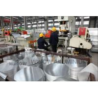 China 1100 Round Aluminum Plate , Aluminum Round Disc For Utensils Processing Equipment wholesale