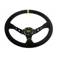 China Black Heated Steering Wheel Cover With Not Easy Peeling Breathable Fabrics wholesale