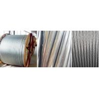 Quality Standard Type Overhead Line Conductor Aluminium Clad Steel 10 - 18 Isokeraunic Level for sale