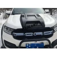 China Everest 2015+ Front Grille With LED Lights Black Grille For Ford Everest Accessories wholesale