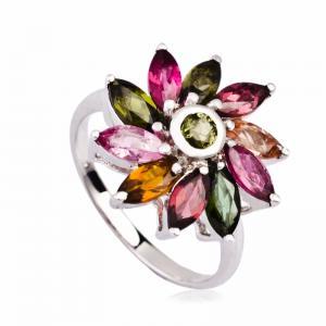 China Fashionable Crystal Silver Rings K-BC-A819 wholesale