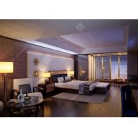 China Eco -  Friendly Hotel Guest Room Furniture , High End Hotel Furniture Antique Style wholesale