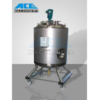 China 3000litres Sanitary Stainless Steel Heating Mixing Tank (ACE-JBG-3) wholesale