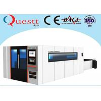 China Big Sheet Metal Laser Cutting Machine 2x4M 3000W With Sealed Working Table wholesale