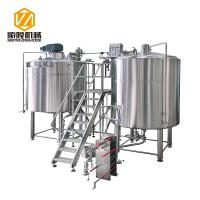 China Micro Craft Small Microbrewery Equipment 5HL Stainless Steel Energy Saving Type wholesale
