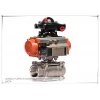 China Single Acting Ball valve pneumatic Actuator with limit switch OEM service wholesale