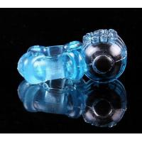 China Five Speed Vibrating Penis Ring Vibrating Cock Ring For Male Long lasting Erections wholesale