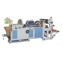 China High Speed KFC / Mcdonald Paper Bag Manufacturing Machine With Ouch Screen on sale
