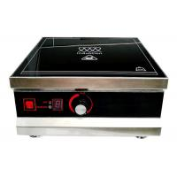 Easy Clean Temperature Control Induction Cooktop , Countertop Induction Burner