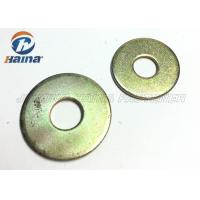 China Round Head Flat Washers A Type , Flat Steel Washers For Mechanical Machine wholesale