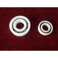 China PTFE PVDF Plastic Ball Bearings Corrosion Preventive With Ceramic Or Stainless Balls wholesale