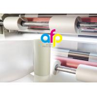 Quality Anti Scratch BOPP Thermal Lamination FilmRoll , Multiple Extrusion BOPP Rolls for sale