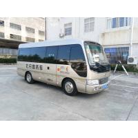 China Length 6M Isuzu Aluminum Coaster Minibus Diesel Engine Extral Rear Open Door wholesale