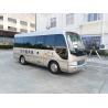 China Length 6M Isuzu Aluminum Coaster Minibus Diesel Engine Extral Rear Open Door wholesale