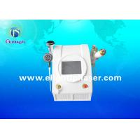 China Portable 635nm Diode Laser RF Cavitation Slimming Machine For Cellulite Reduction wholesale