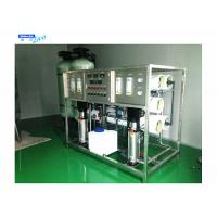 China 3 Stage Reverse Osmosis Water Treatment System , Industrial Water Treatment Plant wholesale