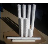 """China 30"""" 40"""" PP Yarn Filter Cartridge / pp string wound filter cartridge for water treatment wholesale"""