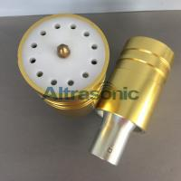 Quality 20Khz Branson803 Ultrasonic Converter / Ultrasonic Transducers With Golden Shell for sale