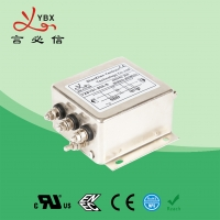 China 10 ampere Enhanced performance EMC EMI AC Power Line Noise Filter three Stage with high attenuation For Control Cabinet wholesale