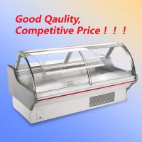 China Shop Open Display Cooler R22 / R404a , Wheels Deli Display Refrigerator With T5 Light wholesale