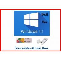 China Win 10 Pro OEM Software / Windows 10 Product Key Code 64 Bit With DVD wholesale