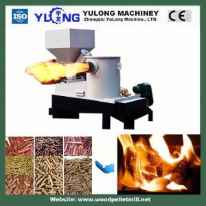 China Biomass Wood Burner / 1.15kw Industrial Pellet Burner For Steam Boiler on sale