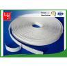 China White Sticky On Hook & Loop Tape Self Adhesive / Custom Hook And Loop Fasteners wholesale