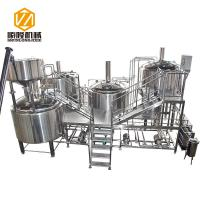 Quality Automatic Beer Production Line 30HL PLC Control Four Vessels Brewhouse for sale