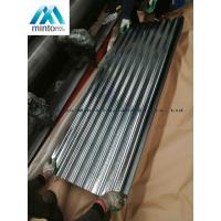 China Zinc Coated Corrugated Roofing Sheets Galvanized Corrugated Roof Panels Antirust on sale