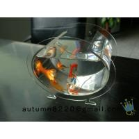 China plexiglass acrylic fish bowl wholesale