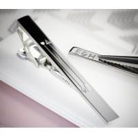 China Modern Stainless Steel Tie Clip / Fashion Personalised Tie Bar For Promotional wholesale