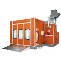 China Professional Infrared Paint Bake Oven , Portable Spray Paint Booth wholesale