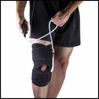 Pneumatic Knee Wrap Support Brace with Hot and Cold Compression Therapy