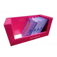 China Corrugated cardboard counter display boxes , Girls decorative cardboard boxes Advertising on sale