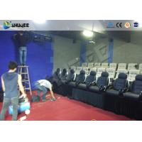 China Game 7D Cinema System With Numerous Effects Set Up In Store Front , Walking Streets wholesale
