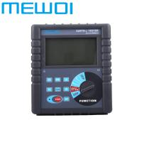 China MEWOI4000C-High Accuracy Earth Ground Resistance/Soil resistivity Tester Meter wholesale