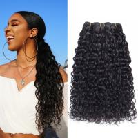 China Dyeable Bleachable Real 100% Indian Human Hair Extensions For Black Women wholesale