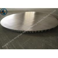 China Stainless Steel Johnson Wire Screen Round Panel No Frame Strip Rod wholesale