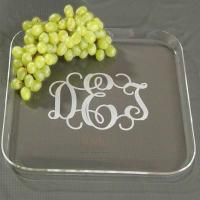 Quality Transparent Plexglass Food Display Trays for sale