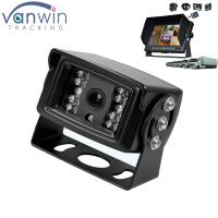 China 18 IR lights 24V HD Truck reverse camera with aviation connector , 15M IR distance wholesale